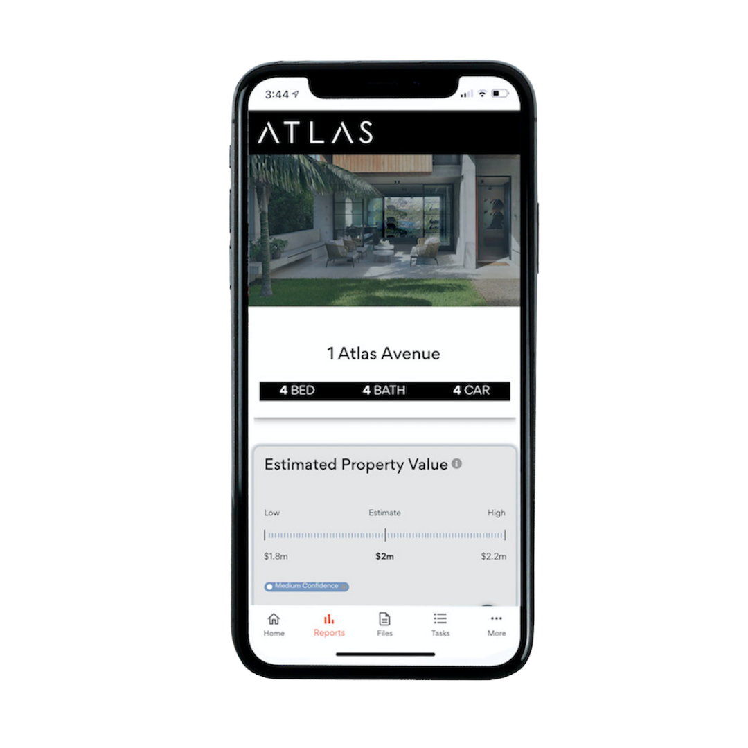 Get an instant property report with value estimate